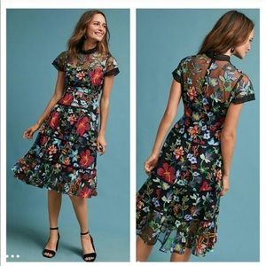 Nwt Anthropologie Janine by vone floral 12 $228